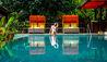 Nayara Springs : Woman By Quiet Pool