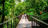 Nayara Resort, Spa & Gardens : Couple Walking Over Bridge