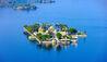 Taj Lake Palace : Aerial View