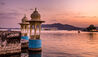 Taj Lake Palace : Sunset