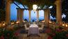 Villa Cortine Palace : Terrace Dining
