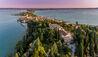 Villa Cortine Palace : Birdseye View