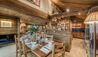 Chalet Chopine : Dining and Kitchen Area