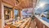 Chalet Elephant Blanc : Balcony Outdoor Dining
