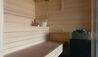 Les Chalets du Koh-I Nor : Sauna