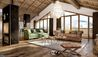 Les Chalets du Koh-I Nor : Living Area