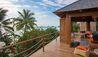 Two-Bedroom Oceanfront Villa Terrace