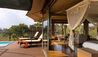 Lemala Kuria Hills Lodge : Tented Suite Deck