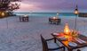 &Beyond Mnemba Island Lodge : Beach Dining