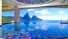 Jade Mountain : Infinity Pool