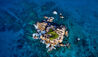 Six Senses Zil Pasyon : Aerial View