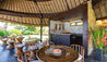 Taman Ahimsa : Poolside Cabana Dining Area
