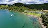 Helena Bay Lodge : Helena Bay Lodge Aerial View