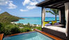 Hermitage Bay : Hillside Pool Suite