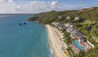 Mandarin Oriental, Canouan : Hotel Exterior Aerial View