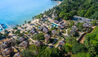TreeHouse Villas : Aerial View Of Beach