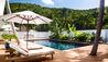 Cheval Blanc St-Barth Isle de France : Garden Bungalow Pool