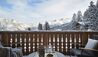 Six Senses Residences Courchevel : Living Room Terrace