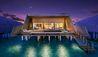 The St. Regis Maldives Vommuli Resort : Sunset Overwater Villa with Pool