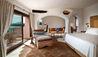 Hotel Cala di Volpe : Premium Suite - Lounge & Balcony view