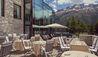 Badrutt's Palace Hotel : La Diala Terrace