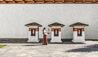 Thimphu Lodge Courtyard