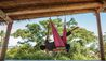 Six Senses Fiji : Aerial yoga