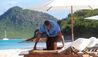 Hermitage Bay : Beach Service
