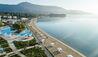 Ikos Dassia : Aerial Beach