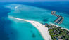 Four Seasons Resort Maldives at Landaa Giraavaru : Aerial View