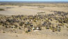 Kalahari Plains Camp : Aerial View