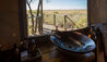 Kalahari Plains Camp : Tent Bathroom