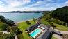 Helena Bay Lodge : Swimming Pool- Aerial View