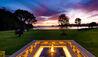 Helena Bay Lodge : The Main House Firepit