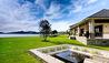 Helena Bay Lodge : Main House Outdoor Fireplace