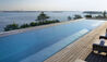 JW Marriott Venice Resort & Spa : Rooftop Pool With View Of Venice