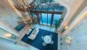 Atlantis, The Palm : Atlantis, The Palm: Underwater Suite Living Room
