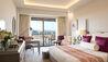 Elysium Hotel : Elysium: Deluxe Bedroom Side Sea View