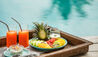 Six Senses Fiji : Poolside Breakfast