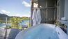 Solitaire Lodge : Executive Suite Outdoor Bathroom