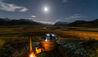 The Lindis : Hot Tub at Night