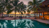 Viceroy Riviera Maya : Pool Deck at Sunset