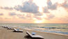 Viceroy Riviera Maya : Beach at Sunrise