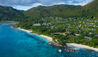 Raffles Seychelles : Resort Aerial View