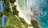 Raffles Seychelles : Beachfront Aerial