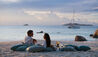Raffles Seychelles : Couple Enjoying Sundowners
