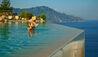 Monastero Santa Rosa Hotel & Spa : Infinity Pool With Coastal View