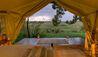 Elewana Elephant Pepper Camp : Safari Tent View
