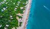Jungle Beach by Uga Escapes : Beach Aerial
