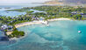 Four Seasons Resort Mauritius at Anahita : Beach Pool Villas Aerial